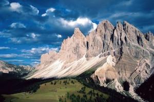alpes dolomites italie