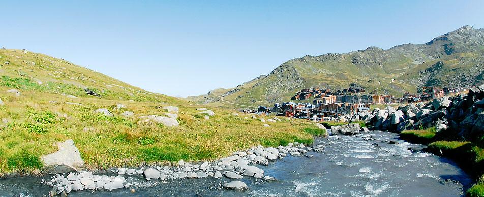 Trek à Val Thorens en été