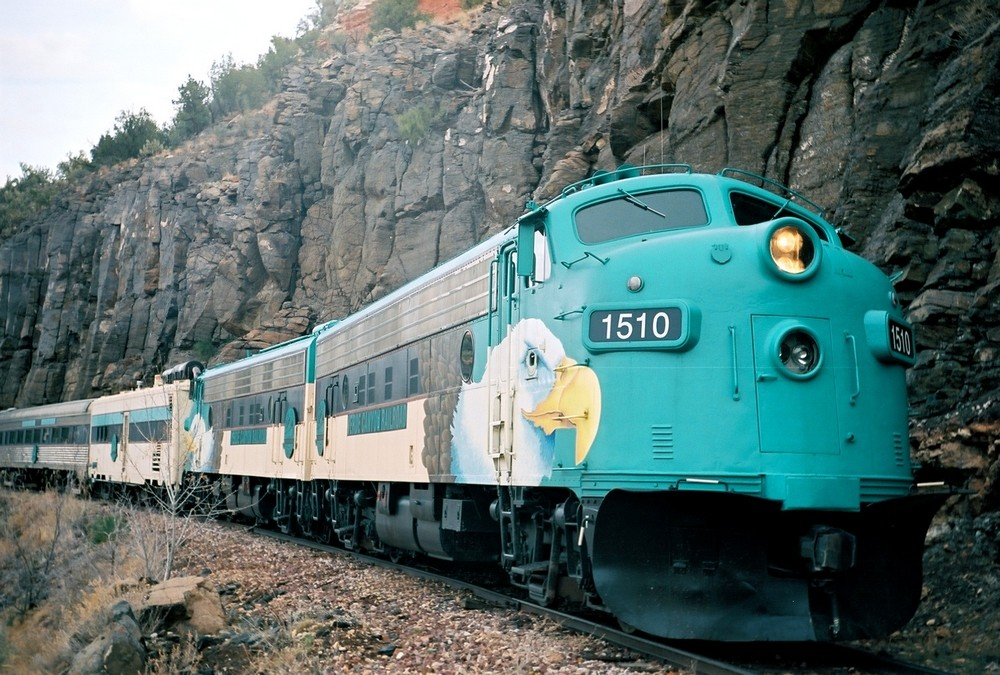 Le chemin de fer Verde Canyon : pour découvrir l'Arizona autrement