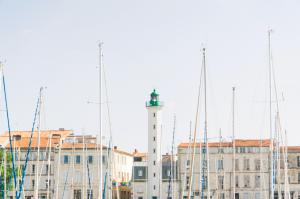 Mats des bâteaux du port de La Rochelle