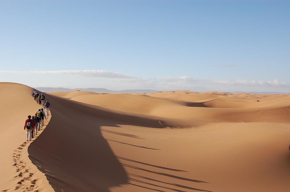 Une aventure en milieu désertique